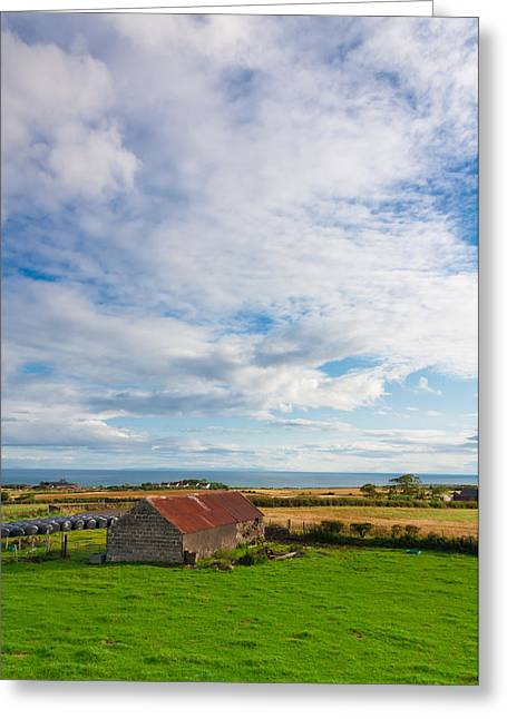 Barn Yard Greeting Cards - Picturesque Barn Greeting Card by Semmick Photo