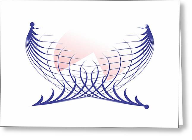 Human Survival Digital Art Greeting Cards - Piece of Peace Greeting Card by Jeffrey Bunce