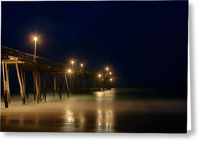 Frisco Pier Greeting Cards - Pier Greeting Card by Andreas Freund