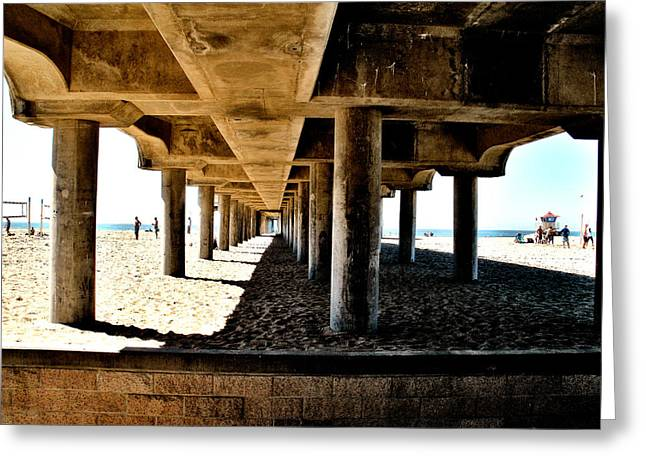 Pch Greeting Cards - Pier Infinity Greeting Card by RJ Aguilar