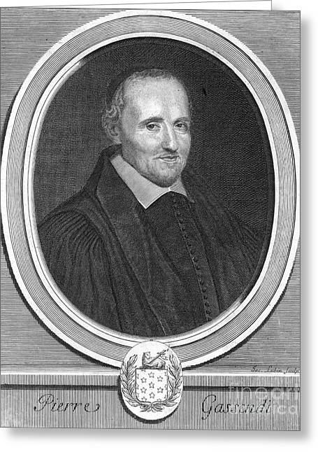 Clergyman Greeting Cards - Pierre Gassendi, French Polymath Greeting Card by Science Source