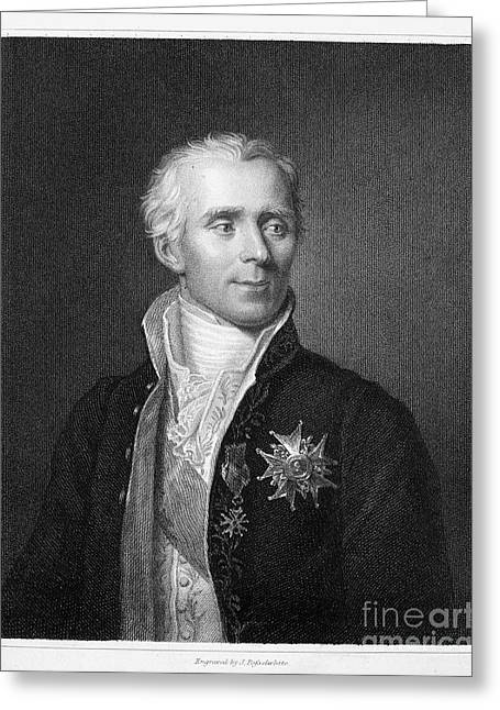 Pierre Laplace (1749-1827) Greeting Card by Granger