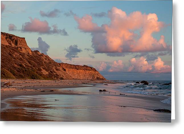 Sandstone Bluffs Greeting Cards - Crystal Cove Reflections Greeting Card by Cliff Wassmann