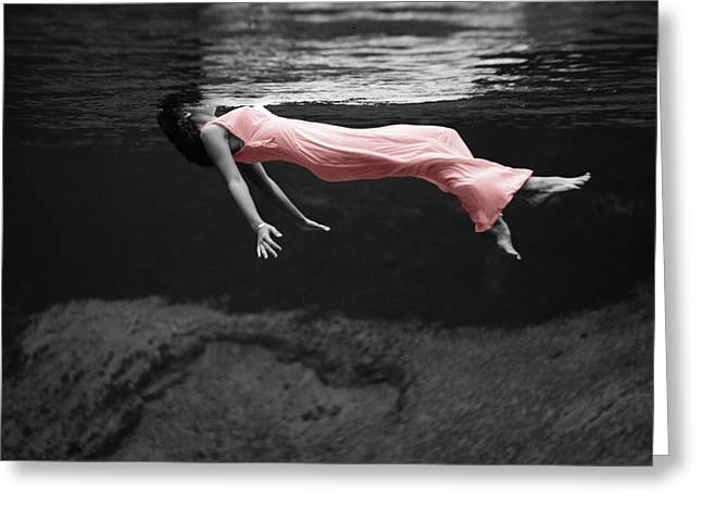 Underwater Photos Greeting Cards - Pink Lady Greeting Card by Andrew Fare