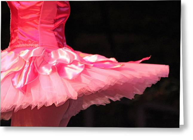 Pink Tutu Greeting Cards - Pink Tutu Greeting Card by Lauri Novak