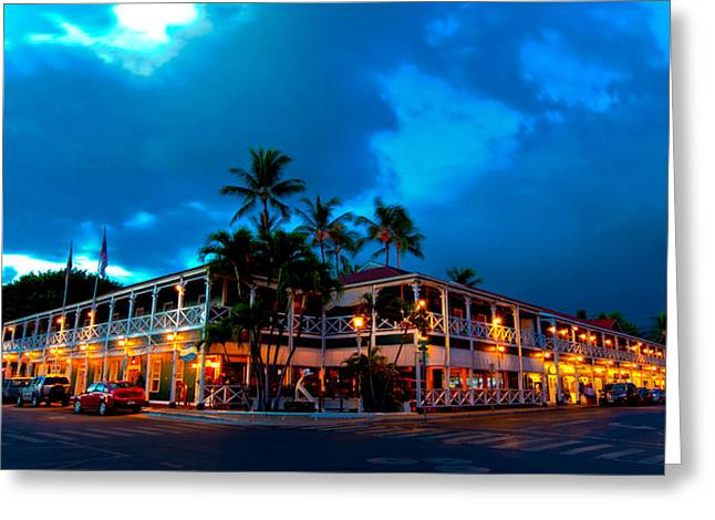 Lahaina Photographs Greeting Cards - Pioneer Inn Greeting Card by James Roemmling