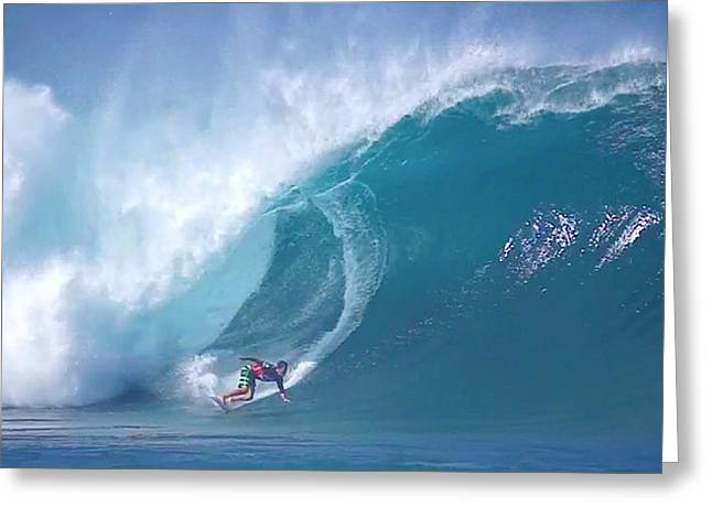 Banzai Pipeline Greeting Cards - Pipe Bomb Greeting Card by Kevin Smith