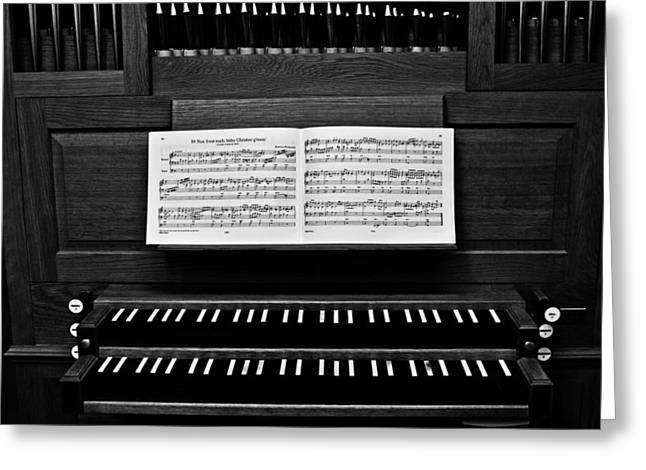 Pipe Organ Greeting Cards - Pipe Organ - Four Greeting Card by Sam Hymas