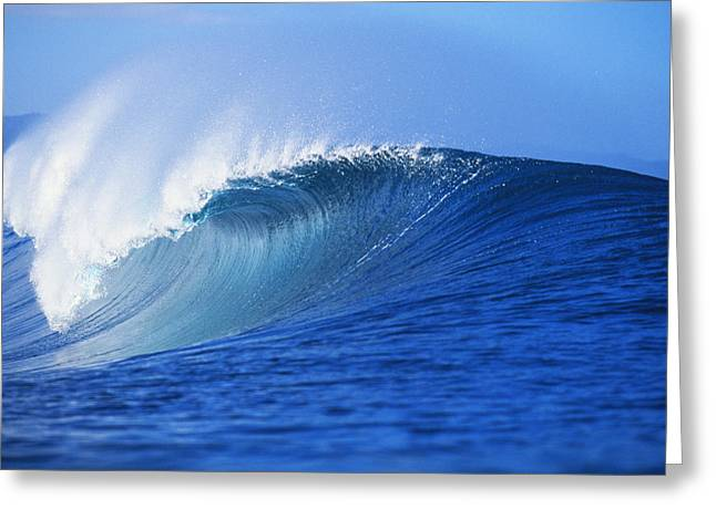 Vince Greeting Cards - Pipeline Wave Curls Greeting Card by Vince Cavataio - Printscapes