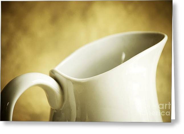 Pitcher Greeting Cards - Pitcher Greeting Card by HD Connelly