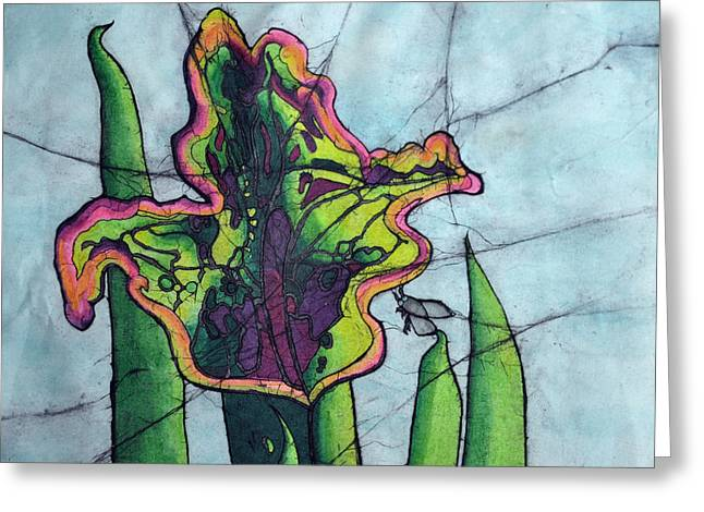 Sealife Posters Greeting Cards - Pitcher Plant Greeting Card by Shari Carlson