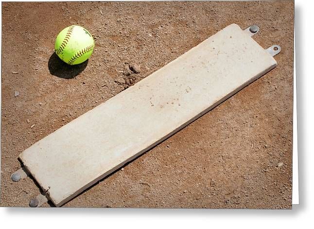 Pitchers Mound Greeting Card by Kelley King