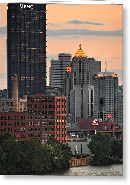 Allegheny Greeting Cards - Pittsburgh 15 Greeting Card by Emmanuel Panagiotakis