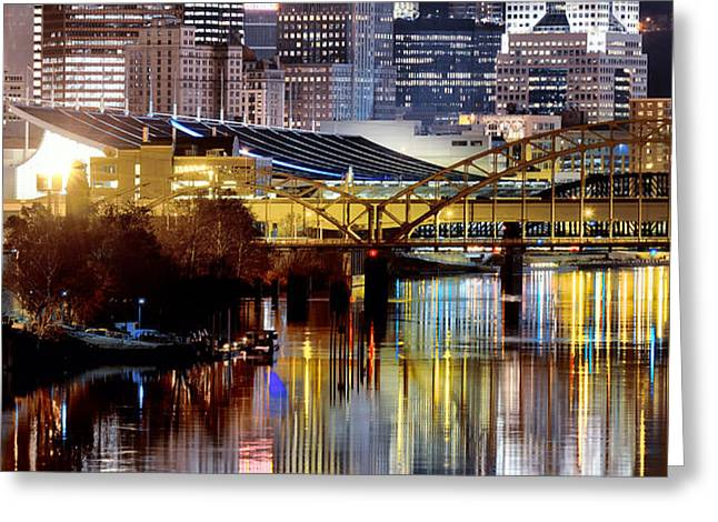 Pittsburgh 2 Greeting Card by Emmanuel Panagiotakis