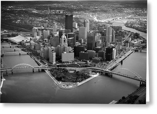 Pnc Park Greeting Cards - Pittsburgh 8 Greeting Card by Emmanuel Panagiotakis