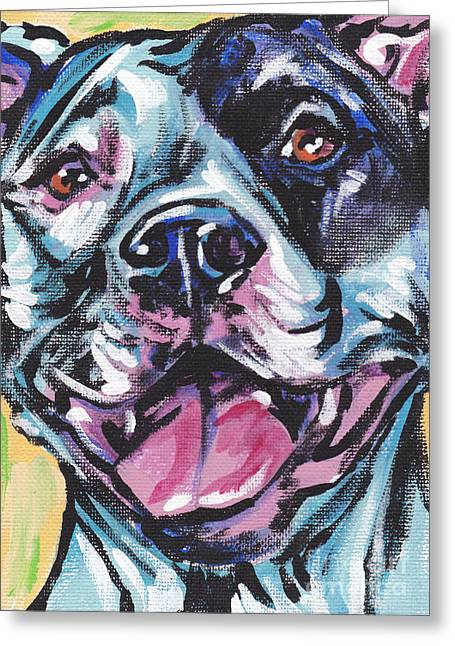 Pitted Greeting Cards - Pity the Pit Greeting Card by Lea