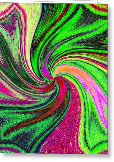 Exhilarate Greeting Cards - Pizzazz 41 Greeting Card by Will Borden