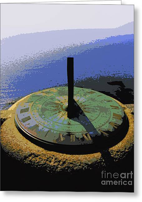 Lainie Wrightson Greeting Cards - Place Time Dimension Greeting Card by Lainie Wrightson