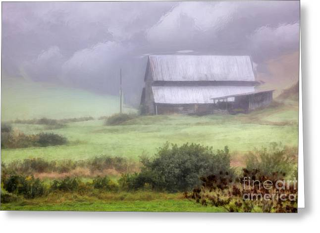 Pasture Framed Prints Greeting Cards - Placid Paradise II Greeting Card by Dan Carmichael