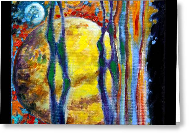 Planet Earth Paintings Greeting Cards - Planets Image Ten Greeting Card by John Lautermilch