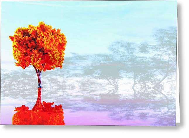 Plastic Models Greeting Cards - Plastic Planet Greeting Card by Mark  Ross