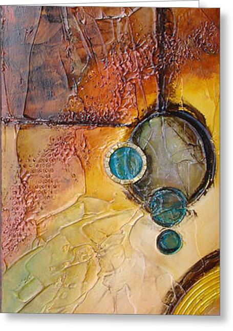 Platter 5 Greeting Card by Phyllis Howard