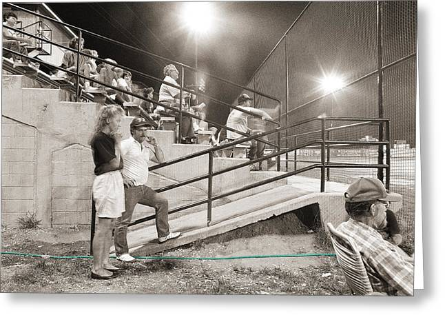Aaa Greeting Cards - Play Ball Greeting Card by Jan Faul