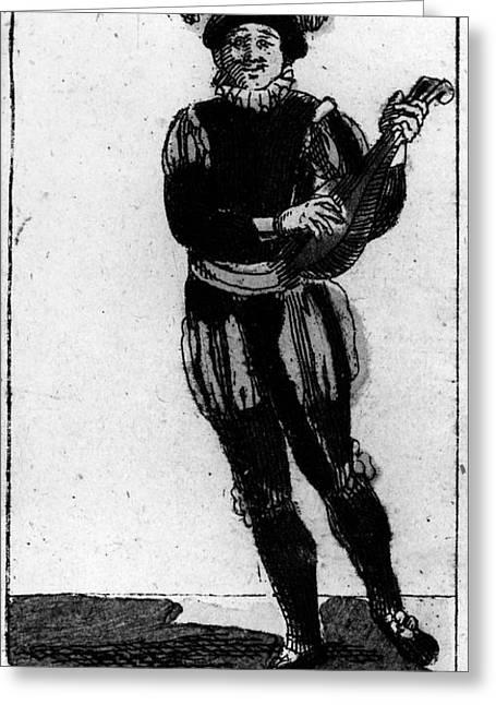Playing Cards Greeting Cards - Playing Card, 1780 Greeting Card by Granger