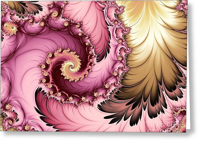 Ultra Modern Greeting Cards - Playing Dress Up Greeting Card by Michelle H