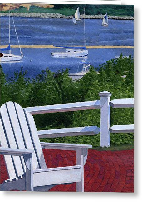 Recently Sold -  - Chatham Greeting Cards - Pleasant Bay Cape Cod Greeting Card by Dominic White