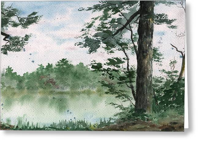 Plein Air 11 Greeting Card by Sean Seal