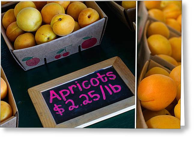 Apricot Photographs Greeting Cards - Plump Greeting Card by Rebecca Cozart
