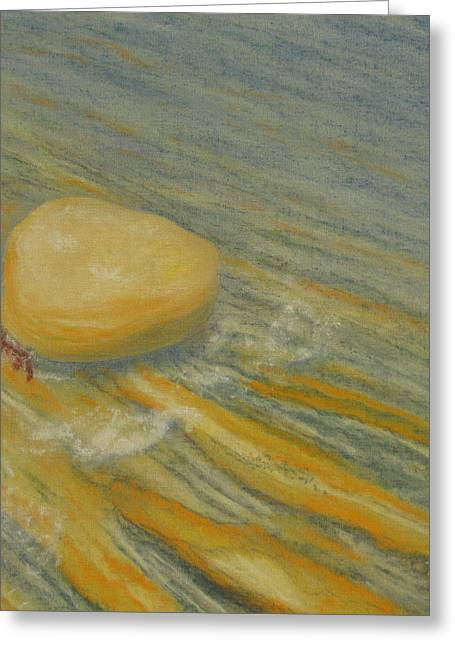 Big Sur California Pastels Greeting Cards - Point Lobos 8 Greeting Card by Marcia  Perry