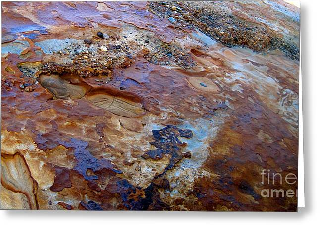 Point Lobos Greeting Cards - Point Lobos Rocks Greeting Card by Iris Vanessa Hood