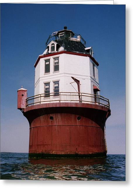 Chesapeake Bay Greeting Cards - Point No Point Lighthouse Chesapeake Bay Maryland Greeting Card by Wayne Higgs