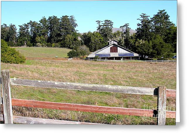 Marin County Greeting Cards - Point Reyes Visitors Center in Point Reyes California . 7D9787 Greeting Card by Wingsdomain Art and Photography