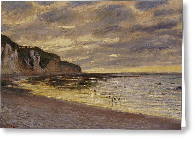 French Landscape Greeting Cards - Pointe De Lailly Greeting Card by Claude Monet