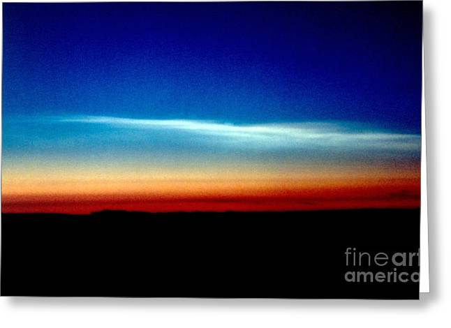 Type 1 Greeting Cards - Polar Stratospheric Clouds Greeting Card by Nasa