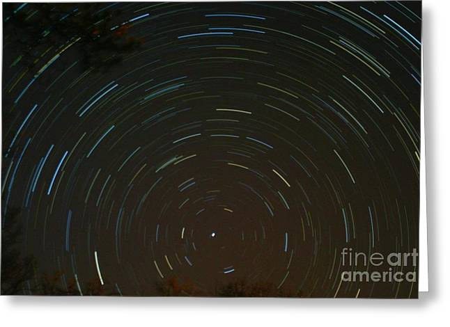 Over-exposed Greeting Cards - Polaris Greeting Card by Stephen Whisman