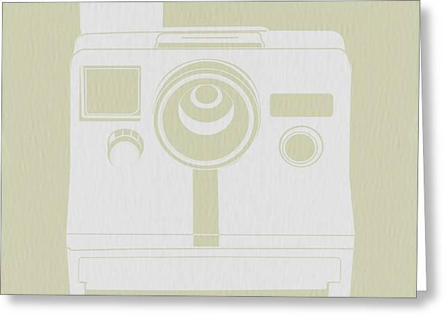 Polaroid Camera 3 Greeting Card by Naxart Studio