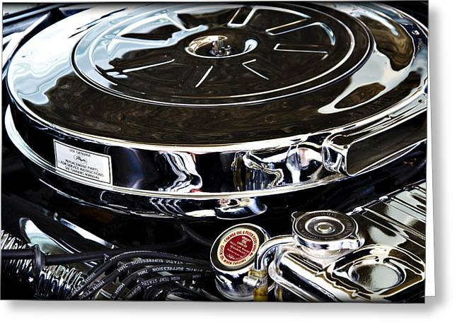 Polished Power II Greeting Card by Ricky Barnard