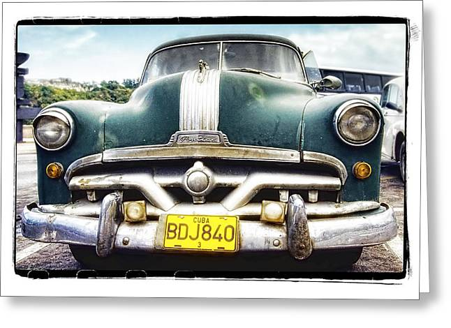 Abstract Digital Pyrography Greeting Cards - Pontiac  Greeting Card by Mauro Celotti