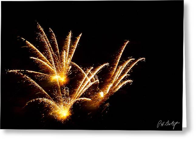 4th July Digital Art Greeting Cards - Poof Greeting Card by Phill  Doherty