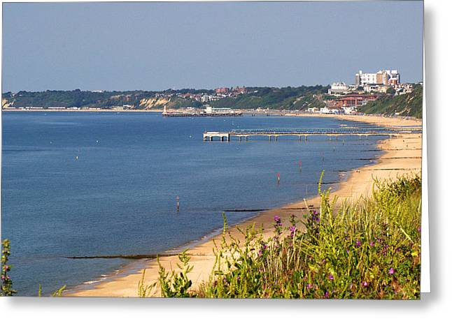 Rectangles Greeting Cards - Poole Bay - June 2010 Greeting Card by Chris Day