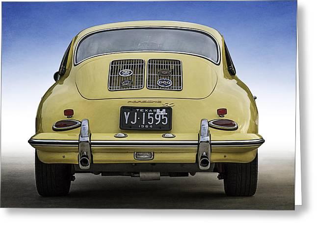 Tub Greeting Cards - Porsche 356 Greeting Card by Douglas Pittman