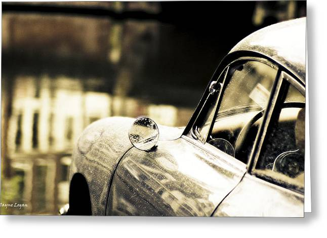 Porsche Coupe in Amsterdam Greeting Card by Jayne Logan Intveld