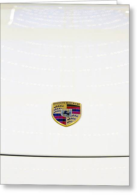 Aged Greeting Cards - Porsche Greeting Card by Stylianos Kleanthous