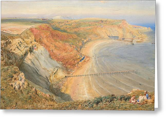 Yachting Greeting Cards - Port Mulgrave Greeting Card by HB Richardson