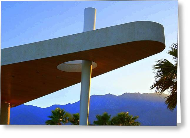 Porte Greeting Cards - Porte Cochere 3 Greeting Card by Randall Weidner