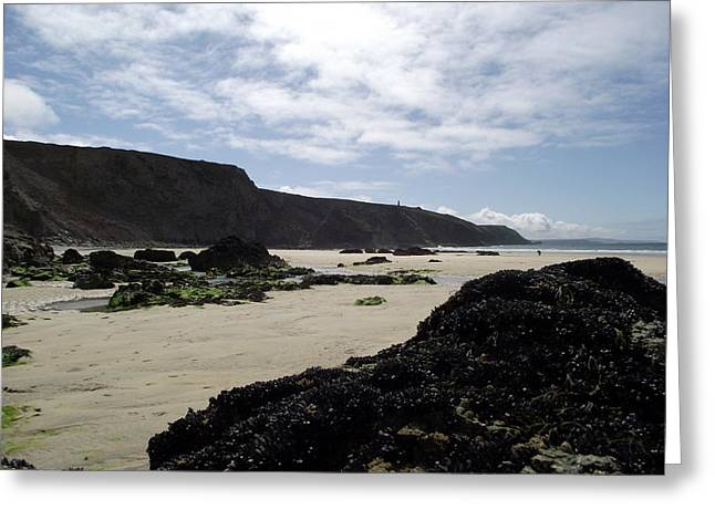 Best Sellers -  - Tidal Photographs Greeting Cards - Porthtowan19 Greeting Card by Sandy Wager